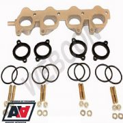 VW Golf 1.8 / 2.0 16V Inlet Manifold Twin Weber 40 45 DCOE And Carb Fitting Kit